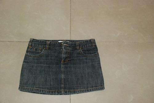 pollera de jean de numa