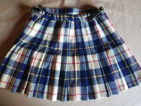 99bd57123 Pollera Escocesa Tableada Vintage