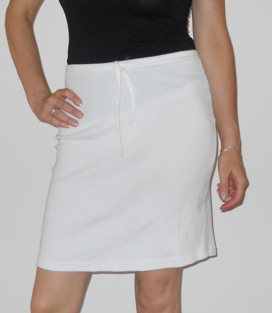 Pollera falda blanca tubo de algodón en mercado libre jpg 1041x1200 Tubo  faldas de los 80 78c4a8245a8c