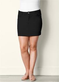 17cd5d83ee Minifaldas Elastizadas Talles Grandes en Mercado Libre Argentina