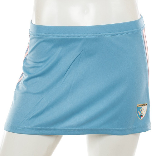 pollera leonas celeste adidas sport 78 tienda oficial