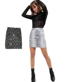 20612ceb10 Polleras Cortas Minifaldas Varios Modelos Seda - Polleras de Mujer ...
