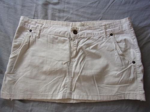 pollera minifalda de jeans para dama, 7alle s