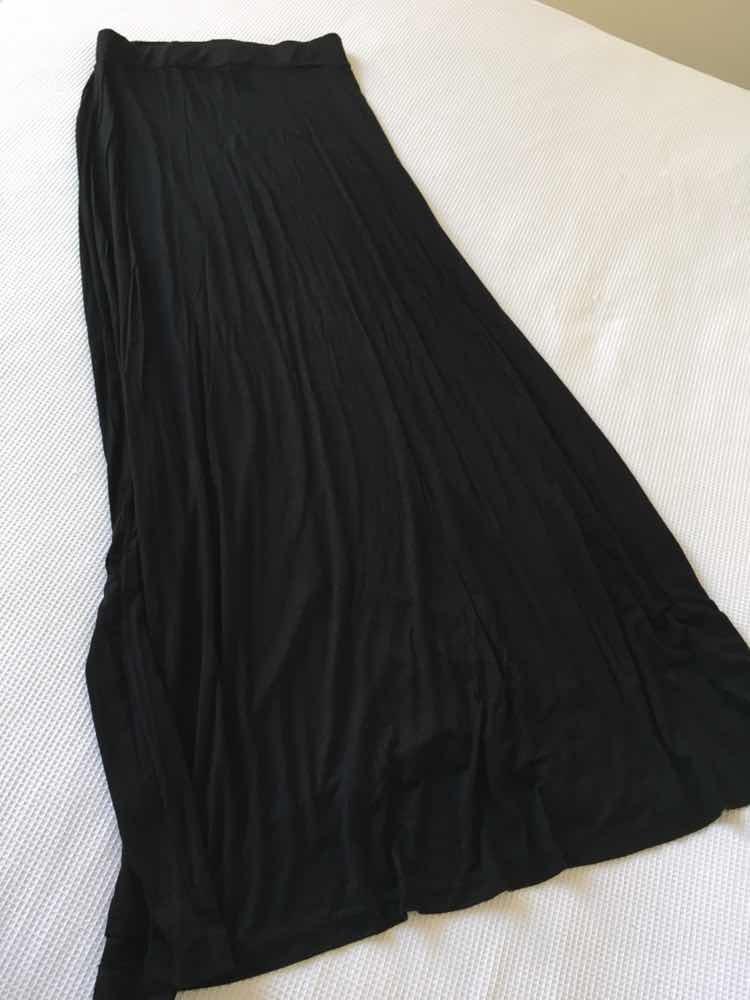 713b51def Pollera Negra Larga *modal* Como Nueva!