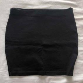 19ebf16b0 Pollera Negra Tiro Alto - Zara - Talle M