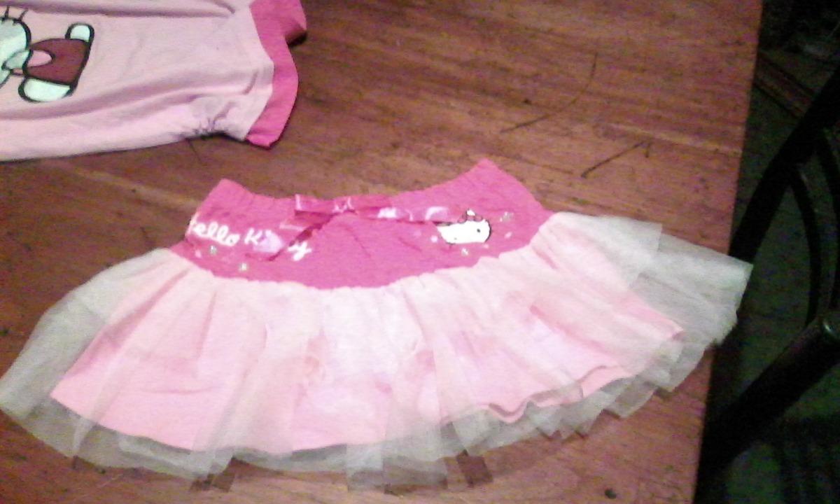 c2f95dae5 Pollera Nena Hello Kitty Original Talle 6 - $ 390,00