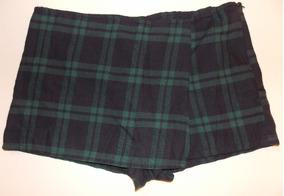 2492f5f5b Pollera Pantalon Mini Short Escoces Falda Nuevo Punkrock M