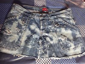 4160e1edf Polleras De Jeans A La Rodilla - Ropa y Accesorios Gris en Mercado ...