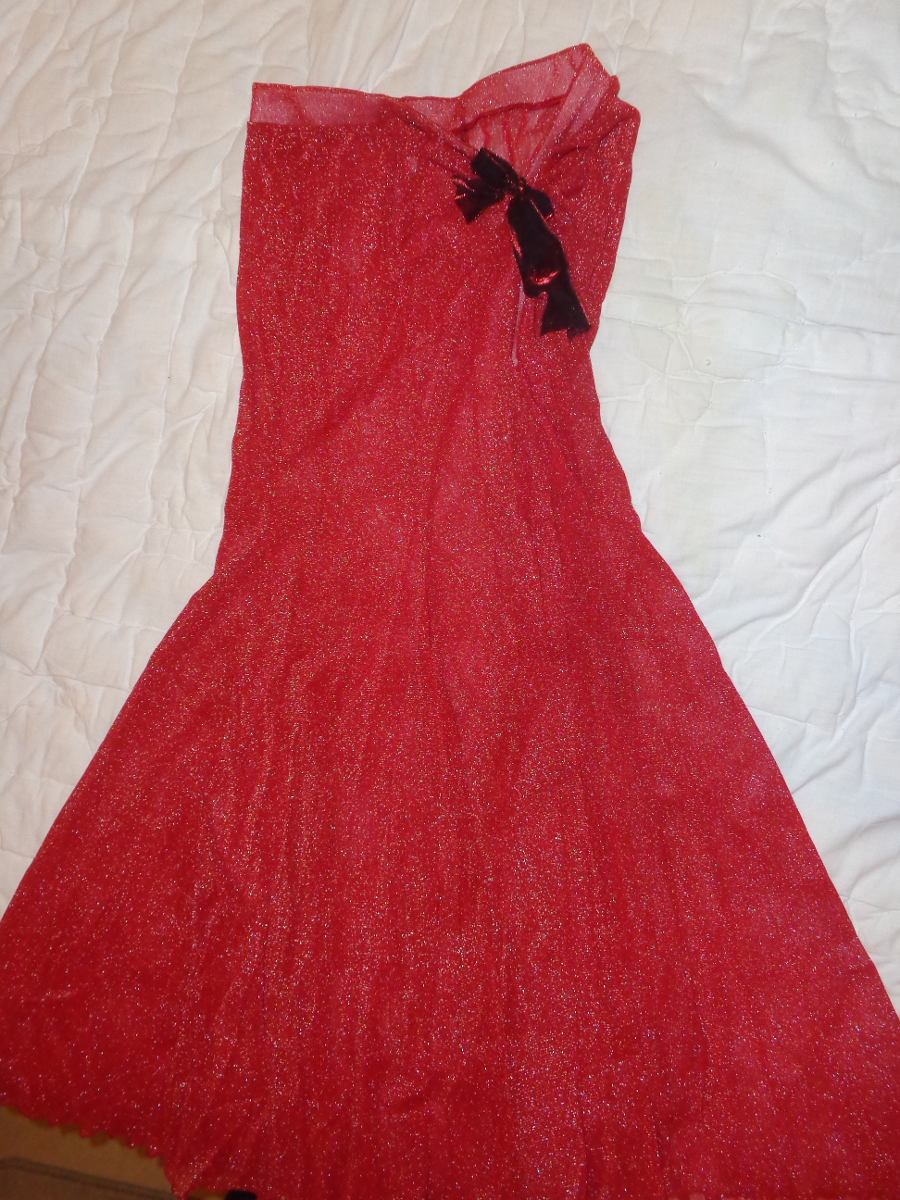 bfa3b6cf4c pollera roja larga danza talle unico. Cargando zoom.