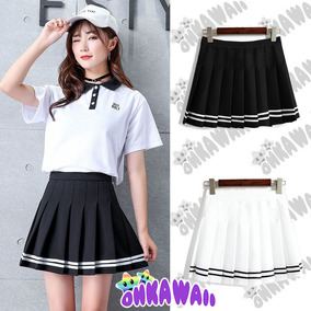 205e58c75 Pollera Tableada Skirt Anime Kpop Hentai Kawaii Goth
