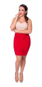 tecnicas modernas tienda oficial Código promocional Falda Tubo Rosa - Ropa y Accesorios de Mujer Rojo en Mercado ...
