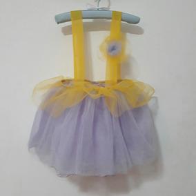 e8126fcf8 Pollera Amarilla Con Tul Abajo - Disfraces para Infantiles, Usado en ...