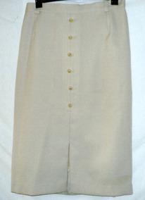 fd32cb9f1 Pollera Vestir Forrada Talle 46 Vintage