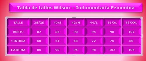 pollera wilson tenis basic con short (98898)*