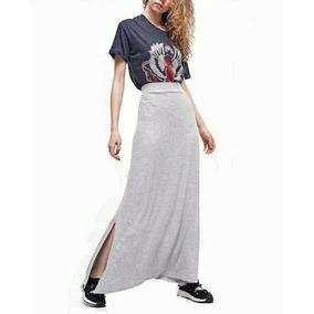 ec8f9e9e90 Faldas Largas Elegantes - Ropa y Accesorios Gris oscuro en Mercado Libre  Argentina