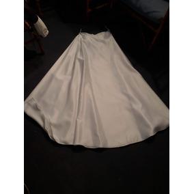 13b71127f1 Pollera Blanca Alta Costura Novia - Polleras Largas de Mujer en ...