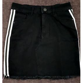 3177f8d75 Mini Jeans - Polleras de Mujer Negro en Mercado Libre Argentina