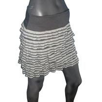 Polleras Minifaldas Con Vuelos, Varios Talles.