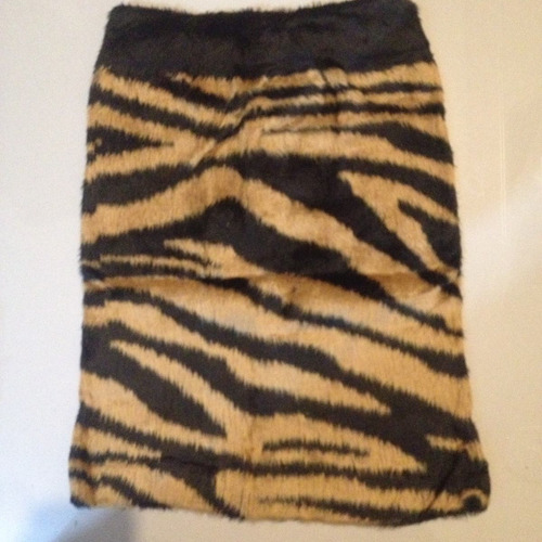 polleras minifalda peludas