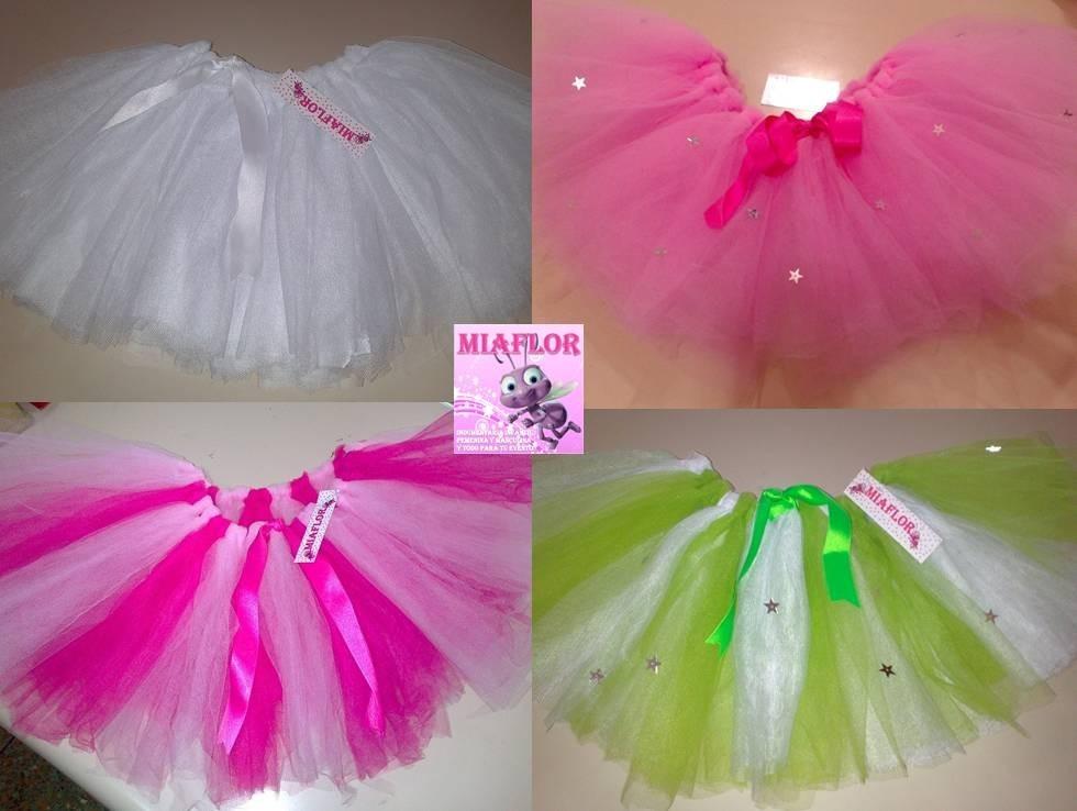 ad6f3dd2e Polleras Tutu De Tul Bailarina O Disfraz Colores A Eleccion - $ 650 ...