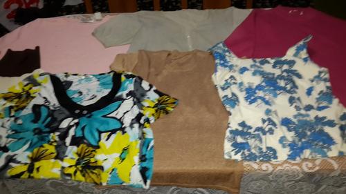 polleras y blusas de dama