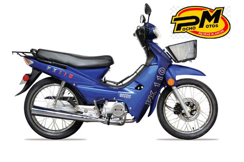 pollerita px 125 full city max top con empa y casco 36 pagos