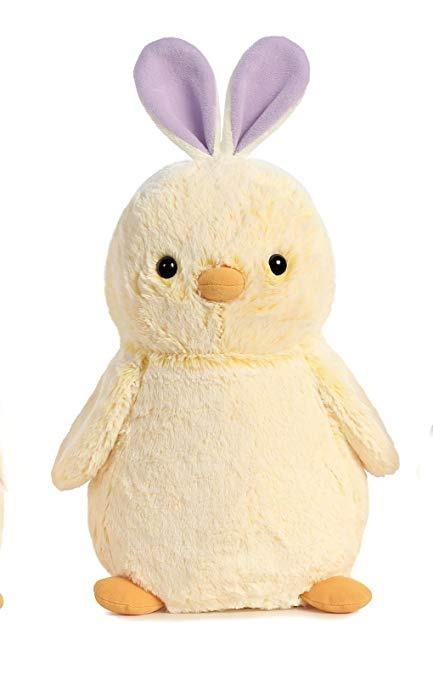 low priced 42c5b 80796 pollito de pompón con morado bunny orejas 9 por aurora