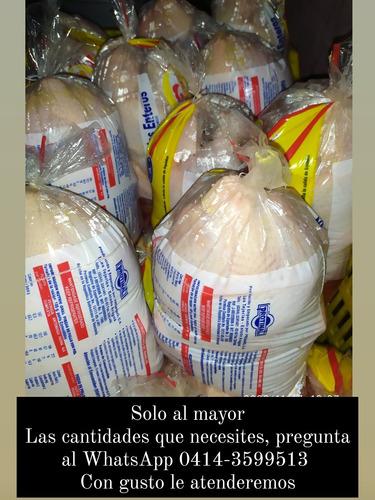 pollos grandes beneficiados