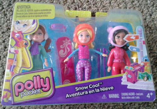 polly pocket aventura en la nieve
