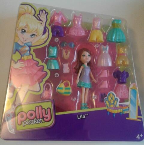 polly pocket - lila colección de modas