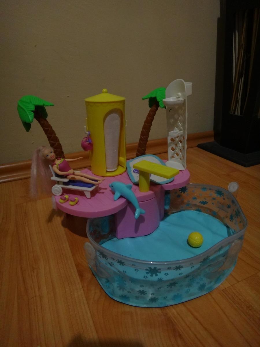 Polly pocket pool party alberca piscina en for Polly pocket piscine