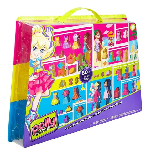 polly pocket super fashion collection - mattel