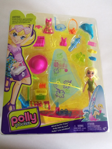 polly pocket surf más accesorios