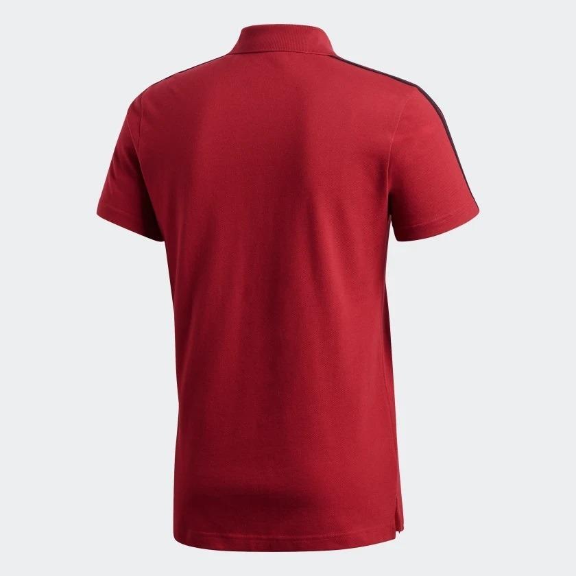 Polo 3s Original Flamengo adidas 2018 - R  155 ecf6cb0581a1b
