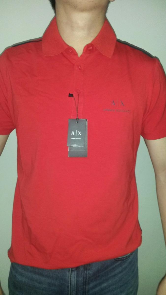 624d49fb244 Polo Armani Exchange Original Con Etiqueta Certificado -   999.00 en ...