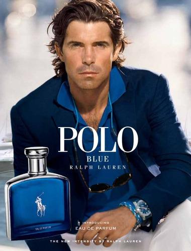 polo blue masculino eau de parfum 125 ml/ 100% original