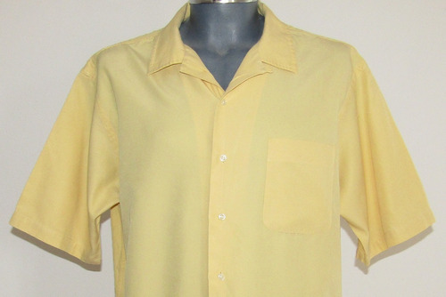 polo by ralph lauren camisa seda /algodon talla extra grande