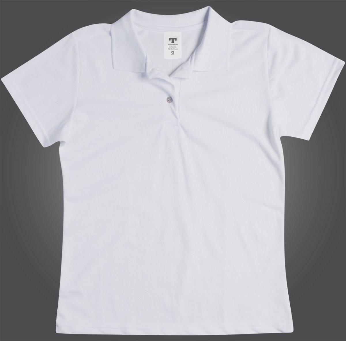 polo camisetas masculina camiseta feminino camisa uniforme. Carregando zoom. 12f0398c60125