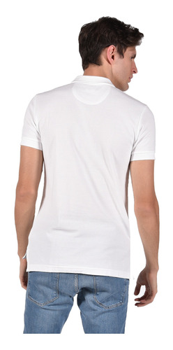 polo classic fit chaps blanco 750603889-1049 hombre