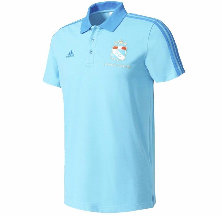 Polo Cuello Camisa Sporting Cristal adidas Nuevo - S  89 0778cb50aa80d