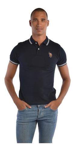 polo custome fit u.s. polo multicolor uslpm447316  hombre