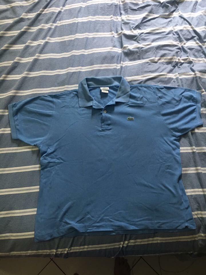 Polo Da Lacoste Original Cor Azul - R  70,00 em Mercado Livre d5ba92690e