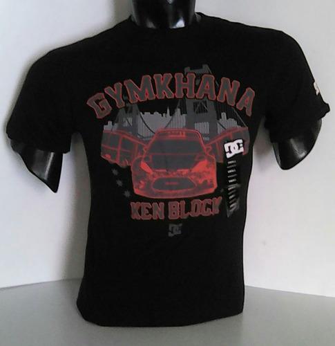 polo dc coleccion ken block gymkhana/ford fiesta [m] negro