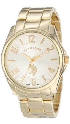 polo de ee.uu. assn. reloj de oro-tono de los hombres clásic