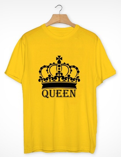 polo de mujer queen / reina / algodón pima estampado