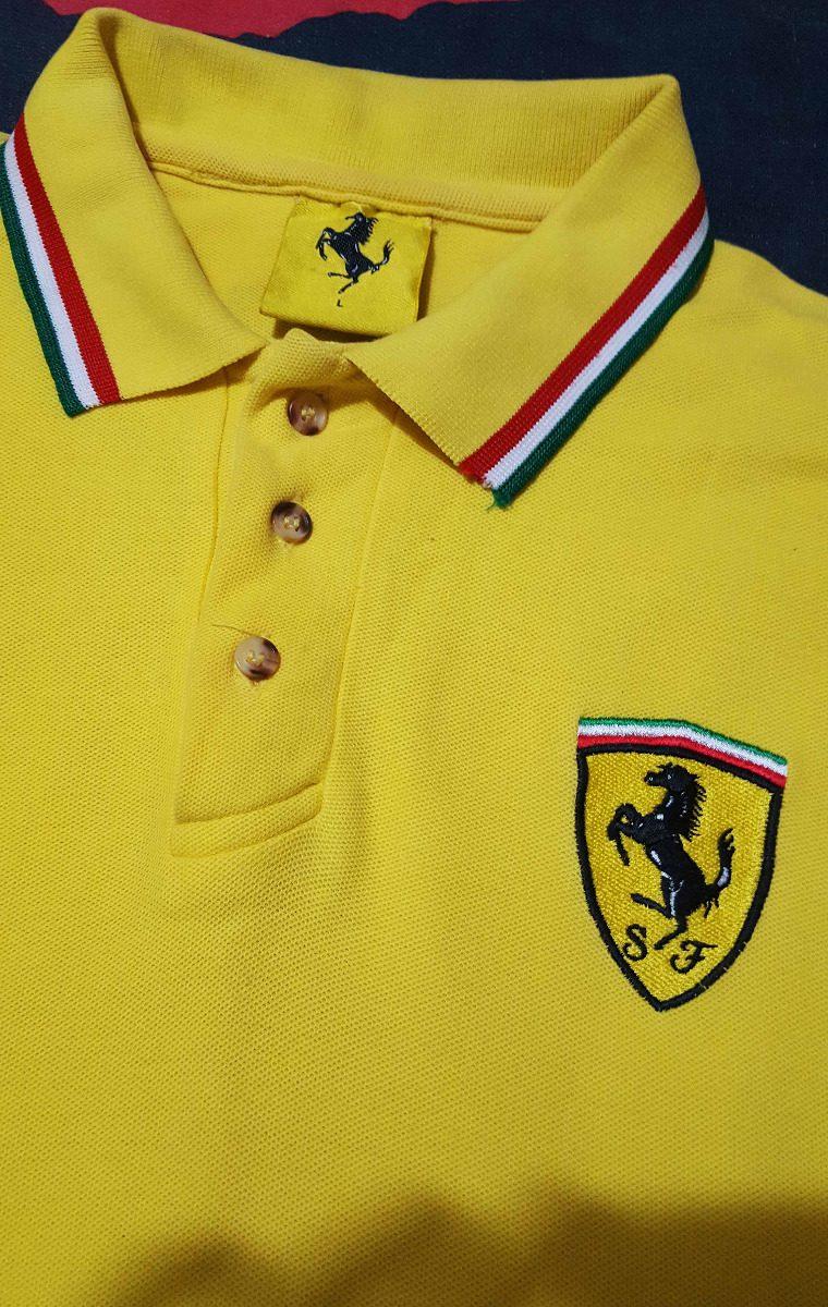 914f5a5d33 Polo Ferrari Amarela Original Usada - R$ 159,00 em Mercado Livre