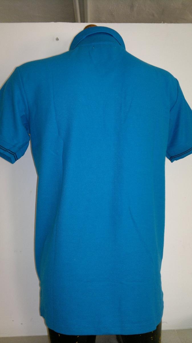 8a78aace12dbd Camisa Playera Tipo Polo Puma Hombre Azul-negro Moda -   399.00 en ...