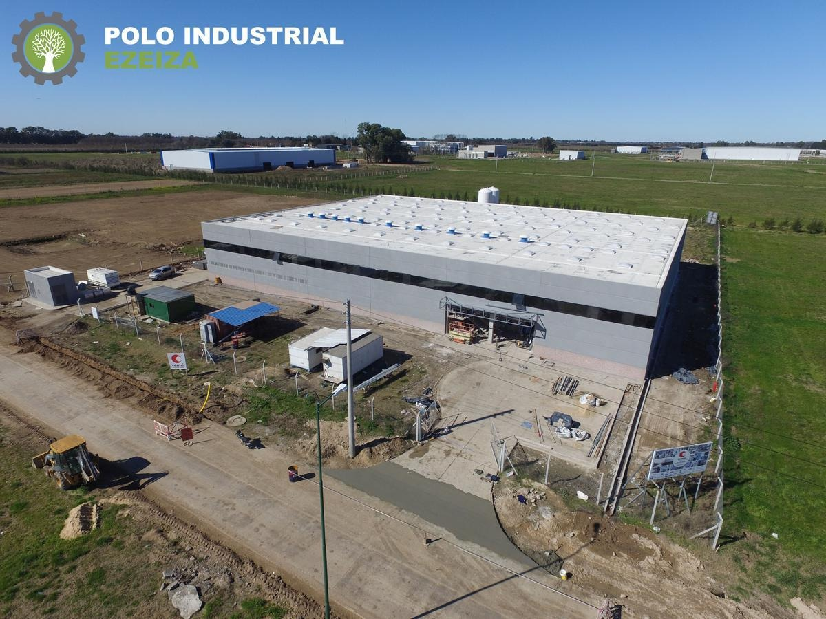 polo industrial ezeiza - 1000 m2 alq