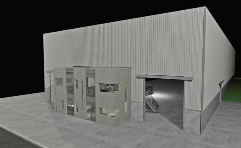 polo industrial ezeiza - 2.650 m2 vta/alq