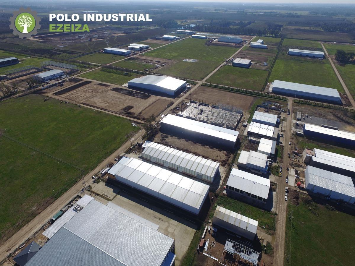 polo industrial ezeiza- 5600 m2 al costo